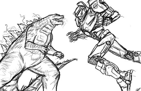Pacific Rim Fight Monsters Coloring Pages Pictures To Pin