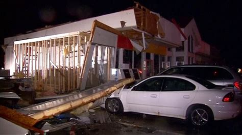 Pontiac Il Newspaper Tornadoes Confirmed To Touched In Illinois As