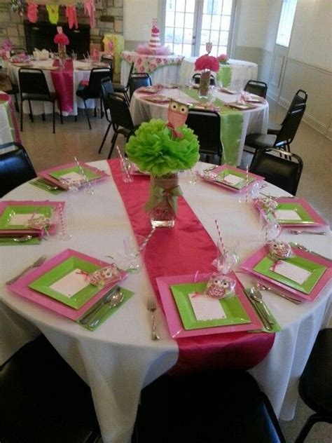 baby shower table setting great ideas pinterest baby