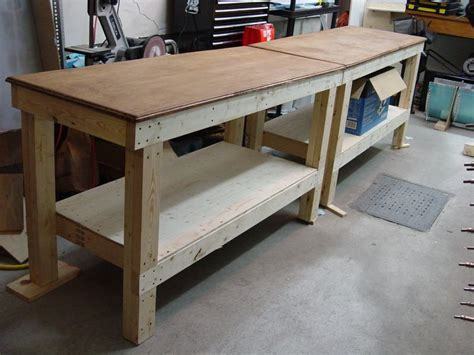 free work bench plans diy free simple garage workbench plans plans free