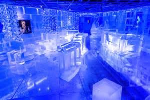 Chandelier Restaurant Dubai Boston S Very Own Frost Ice Bar Lexx In The City