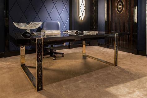 scrivanie di lusso scrivania impiallacciata per uffici in stile classico di