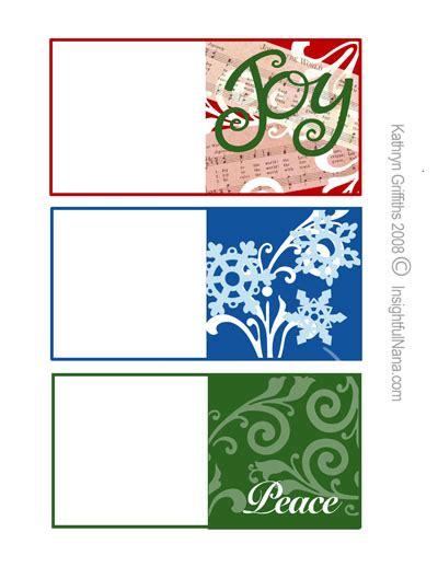free printable christmas gift tags insightful nana
