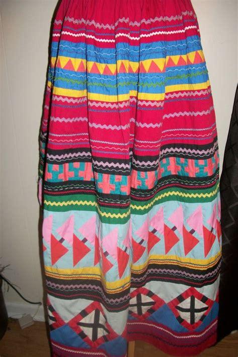 Patchwork Natives - fabulous vintage american seminole ceremonial