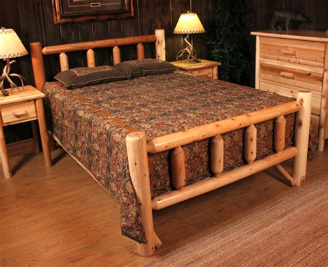 outdoor log furniture kentucky log bed from rocky top rocky top log furniture railing blog 30 off rustic log