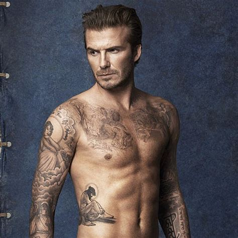 celebs with tattoos david beckham august 2016 popsugar