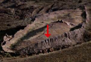 To recent discovery of site associated with the legendary ark of noah