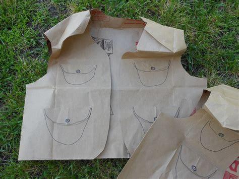 How To Make A Paper Bag Vest - diy backyard explorer kit outdoor pretend play idea