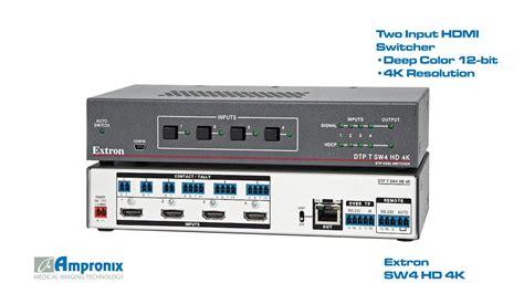 extron sw4 hd 4k 60 1484 01 hdmi switcher sales