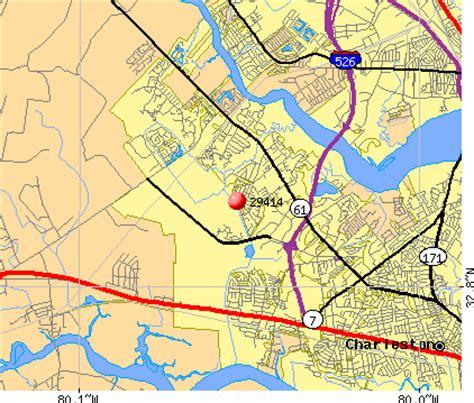 zip code map charleston sc 29414 zip code charleston south carolina profile