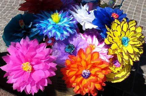 fiori di cartapesta fiori di carta pesta fiori di carta