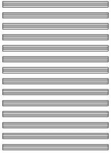 Free blank sheet music blank sheet music net