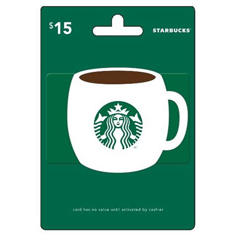 Gift Card Starbucks - 15 starbucks gift card bj s wholesale club