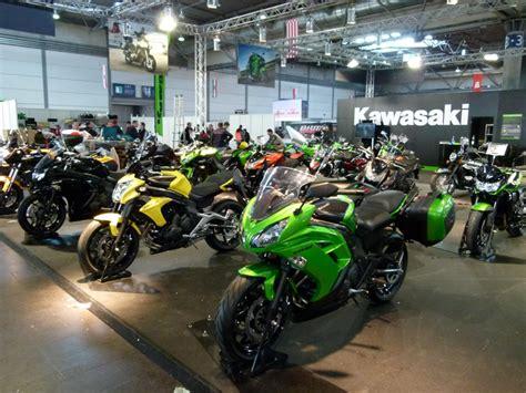 Motorrad Kawasaki Leipzig by Motorrad Messe Leipzig 2012 Bmw Ducati Hyosung Und