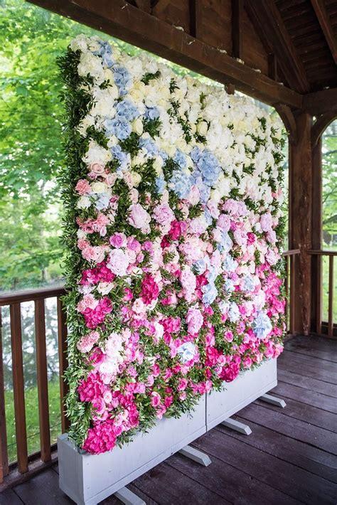 wall flower decoration ideas 25 best ideas about flower wall on flower