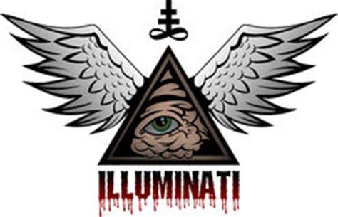 illuminati segni segno di illuminati occhio di dio illustrazione