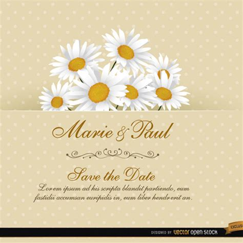 vector images wedding invitations floral wedding invitation vector card freevectors net
