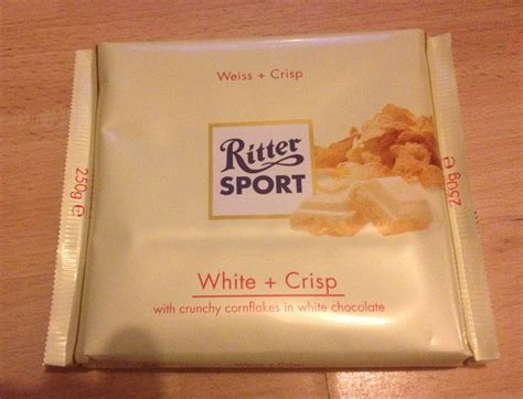 Cocolatte Isport By Co a review a day today s review ritter sport white crisp