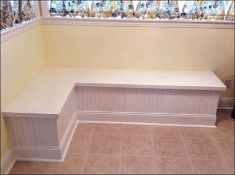 corner table with bench seating corner storage bench kitchen table woodworking projects