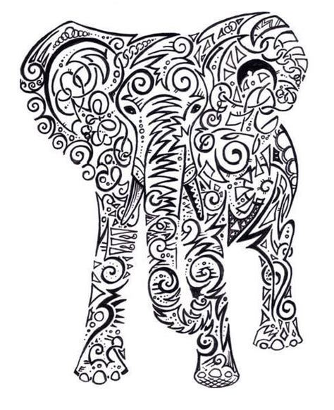 elephant tattoo stencils best 25 elephant tattoo design ideas on pinterest