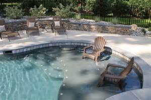 Pool Tanning Chairs Design Ideas Sun Shelf Pool Design Ideas Ideas Design Collection And Inspiration Backyard Pool With
