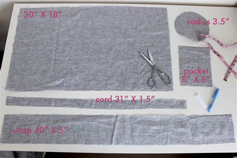 How To Sew A Mat Bag diy mat bag with step by step sewaholic