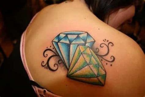 tattoo diamond on back 55 latest diamond tattoos and meanings