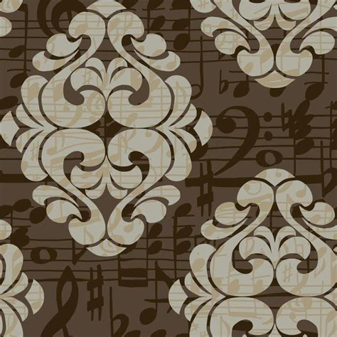chocolate damask wallpaper shop york wallcoverings risky business ii grey pearl mocha