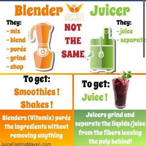Blender Juice Recipes For Detox by Difference Between Blender And Juicer Juicing Recipes