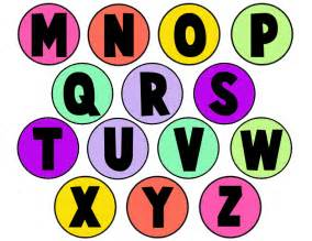 colored letters an alphabet letters memory from milk jug caps