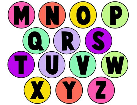 Printable Alphabet Letters Clip Art | printable alphabet letters clipart clipart suggest
