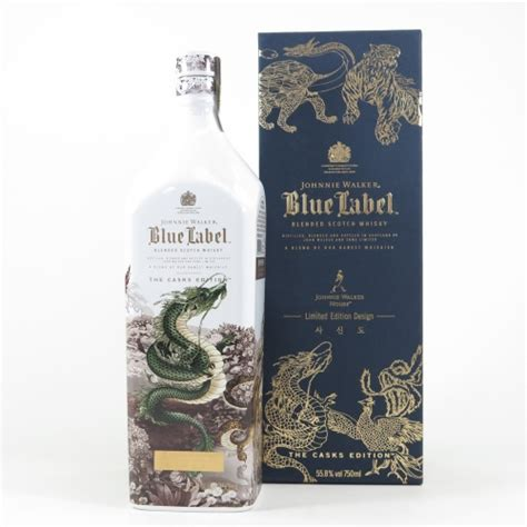 johnnie walker blue label korea sa shin   casks