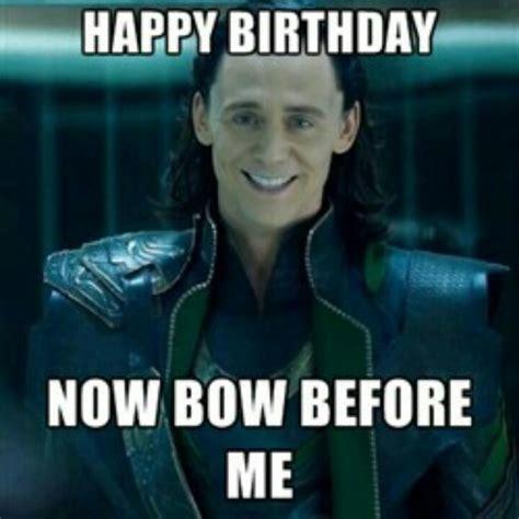 Thor Birthday Meme - loki birthday happy birthday pictures pinterest