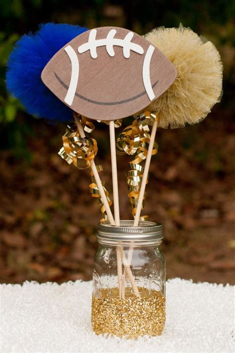 football banquet centerpieces best 25 football centerpieces ideas on