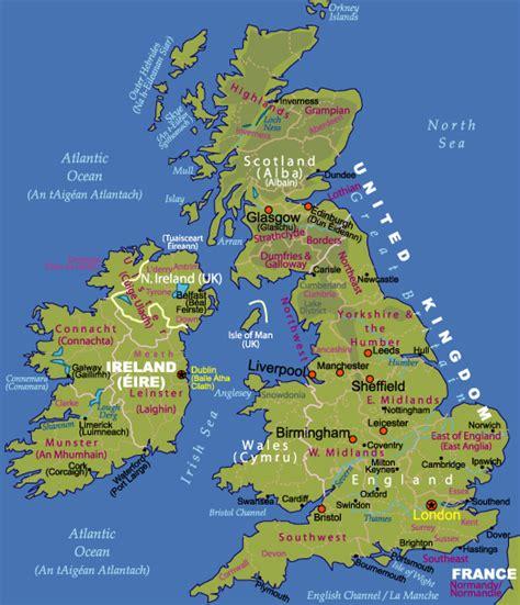 map uk ireland maps of ireland and the uk johomaps