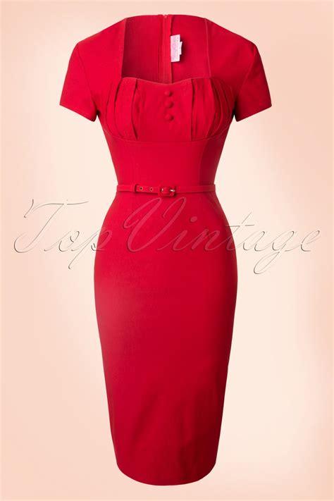 Maxi Hara Pink 1940s style dresses fashion clothing