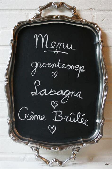 diy chalkboard serving tray diy vintage serving tray chalkboard by wilma