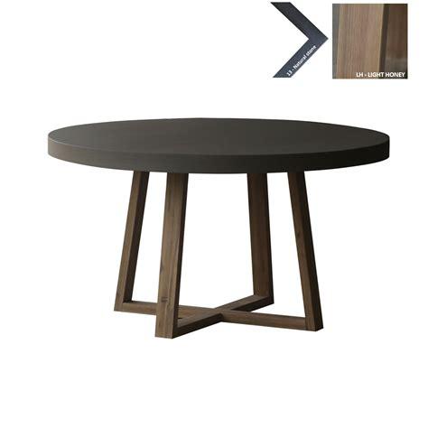 ronde salontafel beton ronde eettafel beton 140cm ronde tafel pinterest