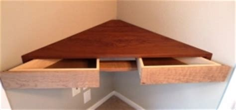 floating shelf with drawer foter