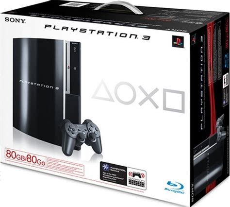 ps3 console price console playstation 3 80 go ps3 argusjeux fr