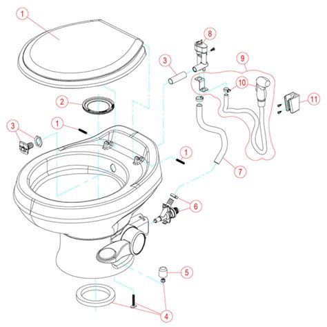 rv bathroom parts dometic 310 toilet parts jaiainc us