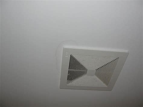 Bathroom Fan On All The Time How To Prevent Ceiling Stains Around Your Bathroom Exhaust