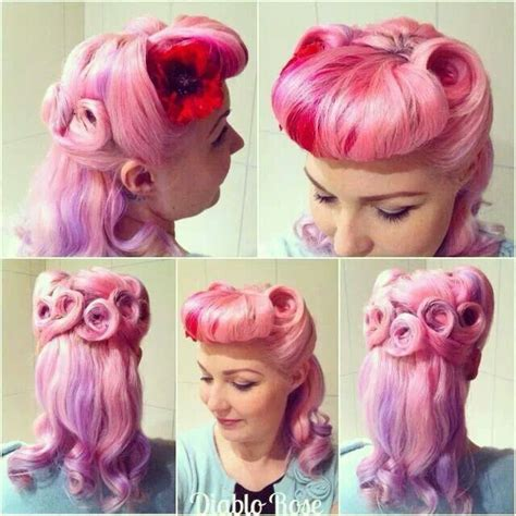 www hairstyle pin 459 best images about a very vintage hairdo on pinterest