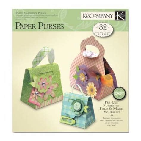 Origami Paper Purse - folded paper purse
