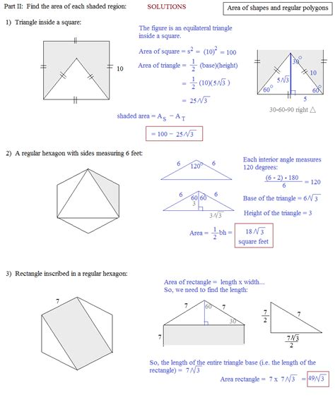 Perimeter Of Polygons Worksheet by Area Of A Regular Polygon Worksheet Worksheets