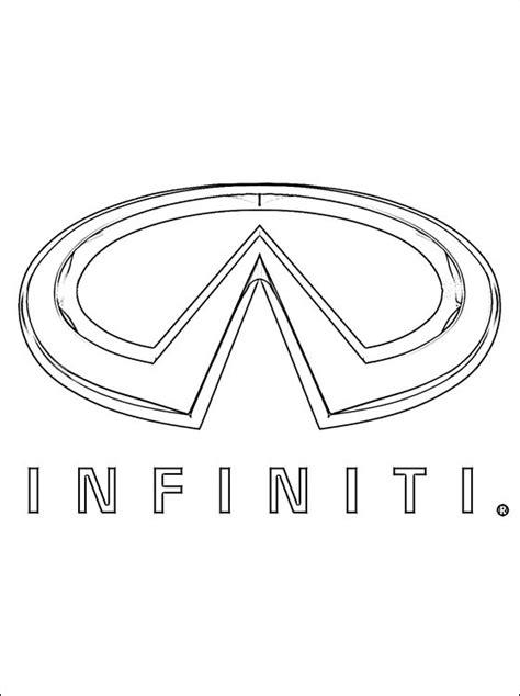 Logo De Infiniti A Colorier Coloriage 224 Imprimer Gratuit