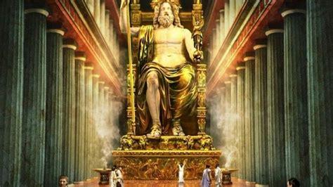 imagenes de la estatua del dios zeus a maguinifica estatua de zeus em olimpia youtube