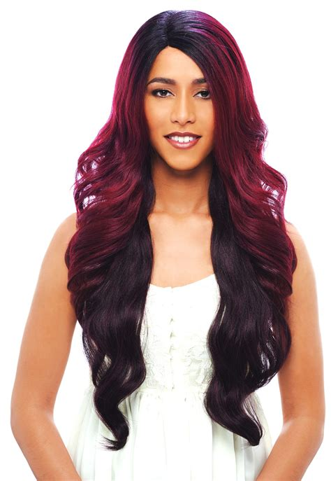 hair wigs janet collection human hair blend wig brazilian scent aileen