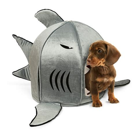 shark dog bed self cleaning shark pet bed the green head