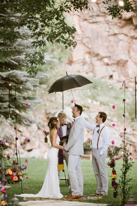 How To Decorate A Backyard Wedding by Picture Of Amazing Backyard Wedding Ceremony Decor Ideas 21